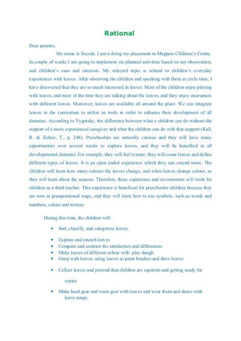 template lop cd curriculum project devlopment ecep 229