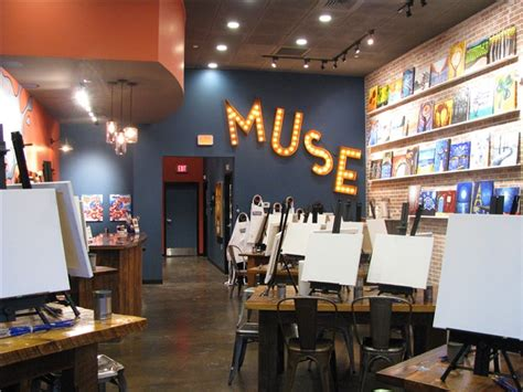 muse paintbar norwalk connecticut muse paintbar phase zero design