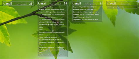 gmail themes and skins download gmail dynamix windows 7 rainmeter skin