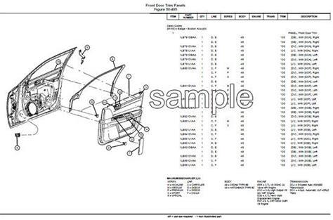 2008 2010 dodge grand caravan parts list catalog download manu 1997 2008 dodge caravan and grand caravan service parts catalog part manual parts catalogs