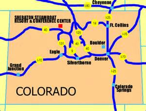 casinos in colorado map 50th annual 2001 denver x conference gt home