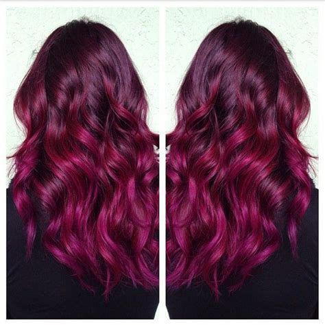 burgundy hair on a latina 25 best ideas about purple burgundy hair on pinterest