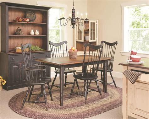 primitive dining room sets home design
