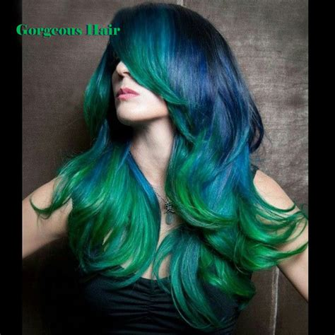 3 tone hair color 3 tone hair color 1b green blue weave gorgeous hair 4