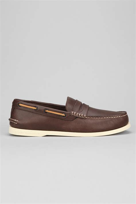 original loafers lyst outfitters original loafer in brown for