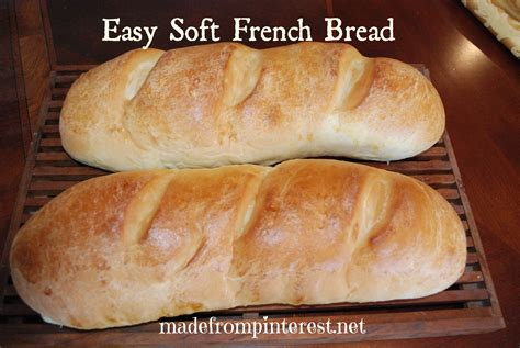 Handmade White Bread - easy soft bread made from