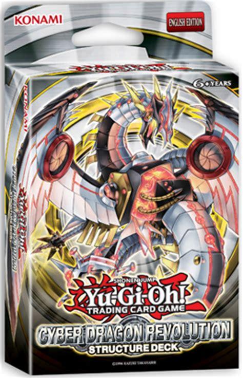 Yugioh Starter Decks List by Cyber Dragon Revolution Structure Deck Yu Gi Oh
