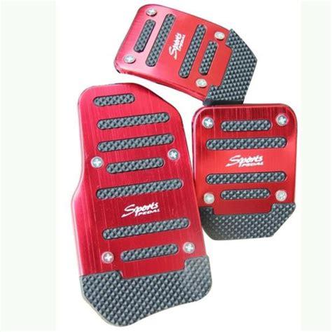 Cover Aluminium Pedal Gas Mobil Merah 2015 special universal sports non slip car pedal manual series kit pad cover quality