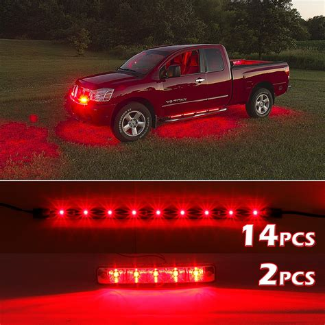 led glow lights for cars 10watt daytime running lights xkglow 3 mode ultra bright