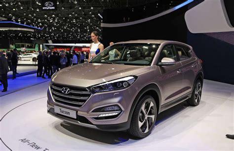 Kia Fletcher Rock 2016 Hyundai Tucson Leads Family Vehicle Debuts In Geneva
