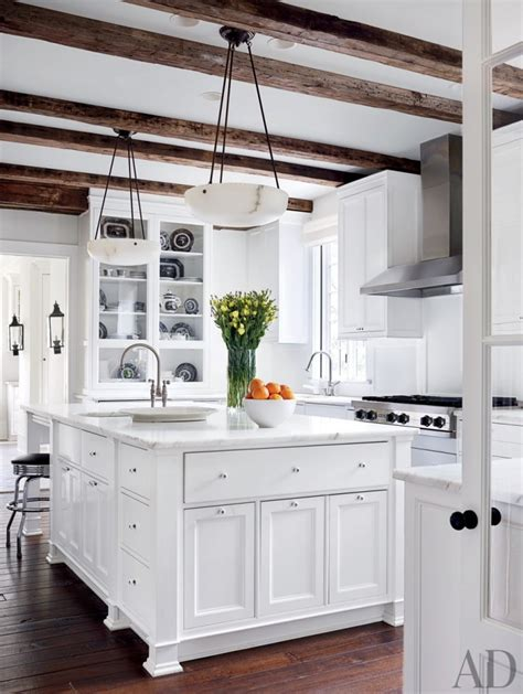 rustic white kitchen 46 best white kitchen cabinet ideas for 2018