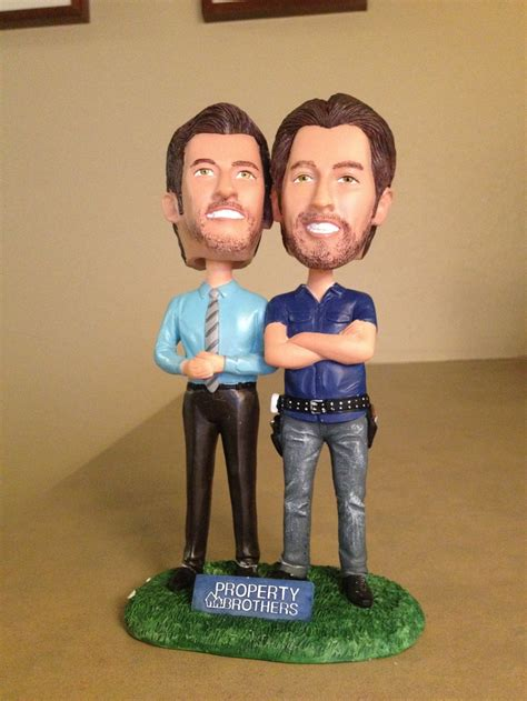 property brothers on hgtv i love pinterest received these awesome bobbleheads of drew and jonathan