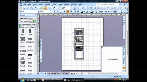 creating rack diagrams  visio youtube