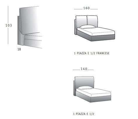 dimensione letto 1 piazza e mezza letto imbottito 1 piazza e mezza flair