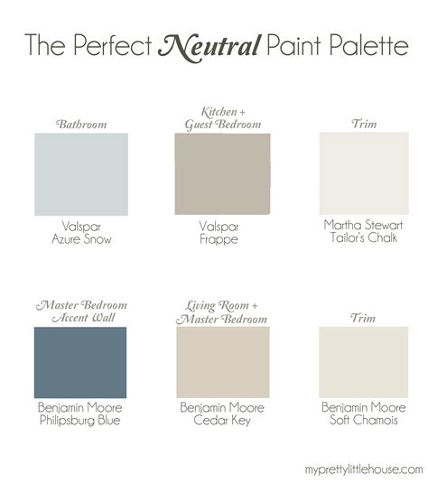 the neutral paint palette benjamin cedar key philipsburg blue soft chamois