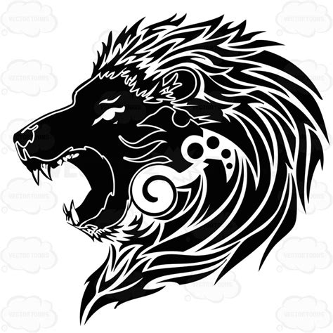 symbol for zodiac symbol for leo clipart vector