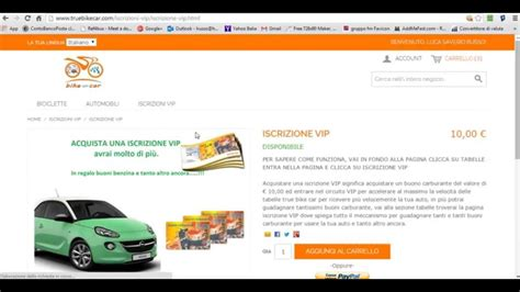 tutorial come ci si trucca come ci si iscrive in truebikecar tutorial video 2 youtube