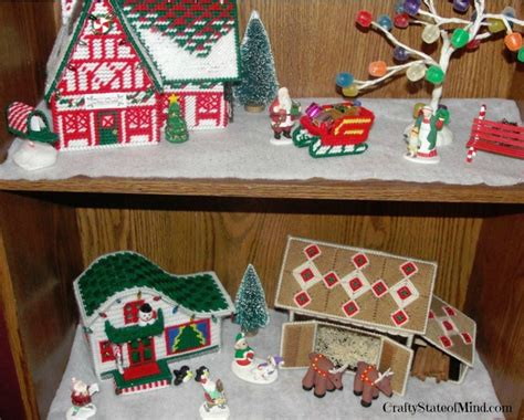 pattern for christmas village 1000 images about plastic canvas christmas village on