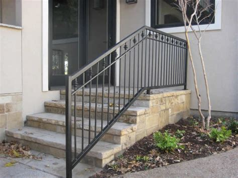 outdoor banister railing stairs iron railings for exterior outdoor wrought stair