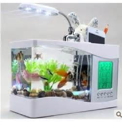 usb mini aquarium mini aquarium chambre salon d aquarium