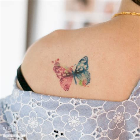 butterfly watercolor tattoo the 25 best watercolor butterfly ideas on