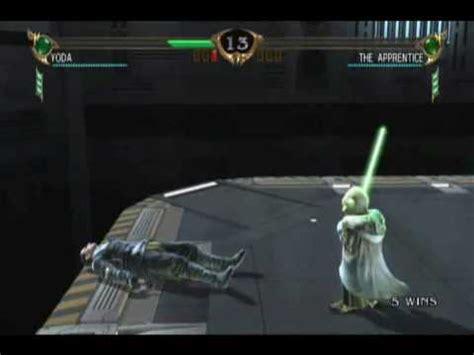 star wars the force 0241201160 soul calibur iv yoda vs starkiller youtube