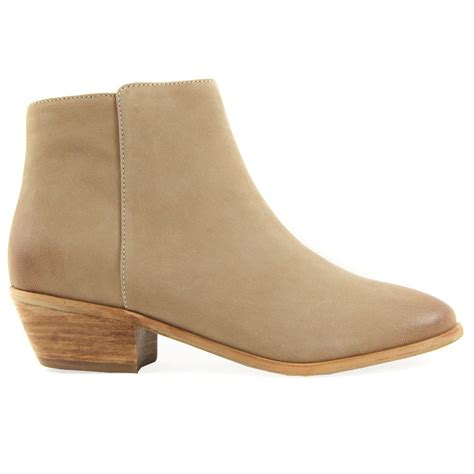 ankle boots buy vanilla moon nebida beige leather ankle boot