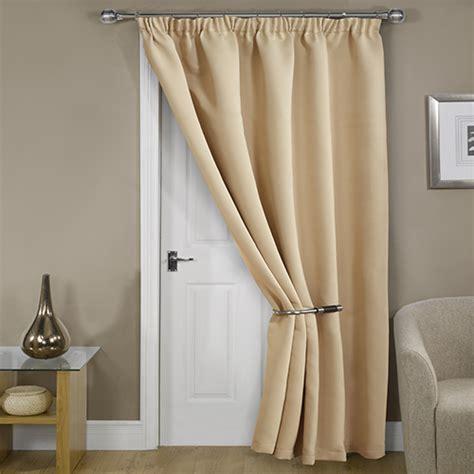 cream door curtain blackout thermal cream door curtain tony s textiles