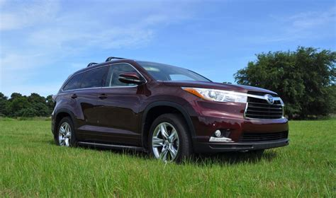 toyota highlander 2015 2015 toyota highlander awd limited review