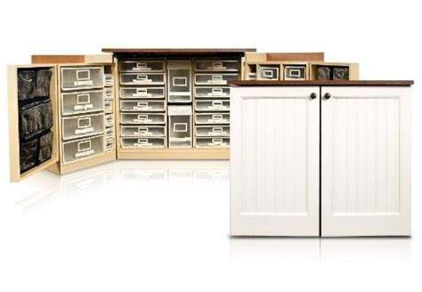 Craft Armoire Furniture by Minibox Sewing Cabinet Scrapbooking Craft Armoire Sewing
