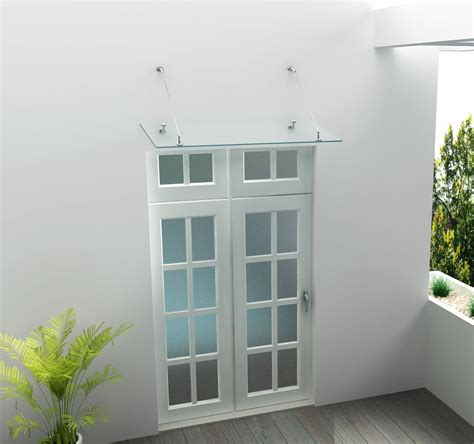 Vordach Glas by Glas Vordach 200 X 90 Cm Alphabad