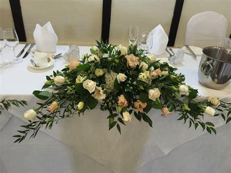 table flower arrangements top table arrangements sue s flowers in harlow epping