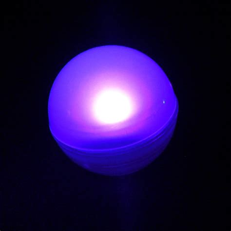 purple fairy berry floating led light