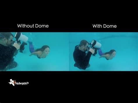 gopro underwater dome / no dome comparison gopro tip