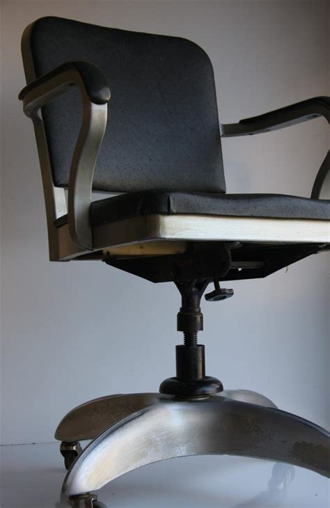 Tanker Desk Chair by Machine Age Goodform Form Emeco Office Chair Aluminum