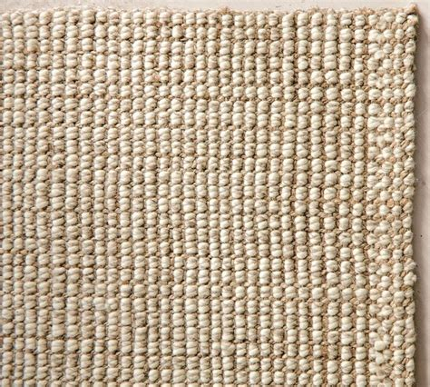 Jute Kitchen Rug Chunky Wool Jute Rug Traditional Rugs By Pottery Barn