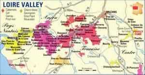 the valley map domaine de bernier chardonnay loire valley