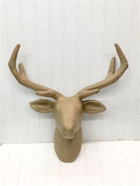How To Make A Paper Mache Deer - best 25 deer mount decor ideas on deer horns