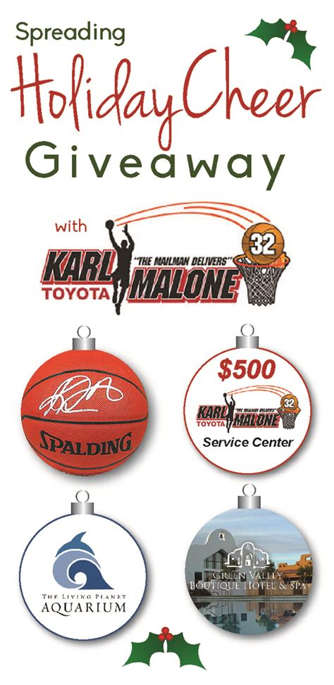 Carl Malone Toyota Spreading Cheer With Karl Malone Toyota Giveaway