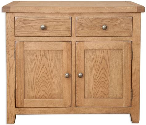 buy perth country oak sideboard 2 door 2 drawer