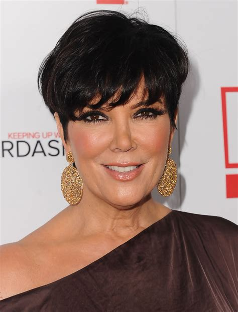 kris kardashian haircolor kris jenner short straight cut kris jenner looks