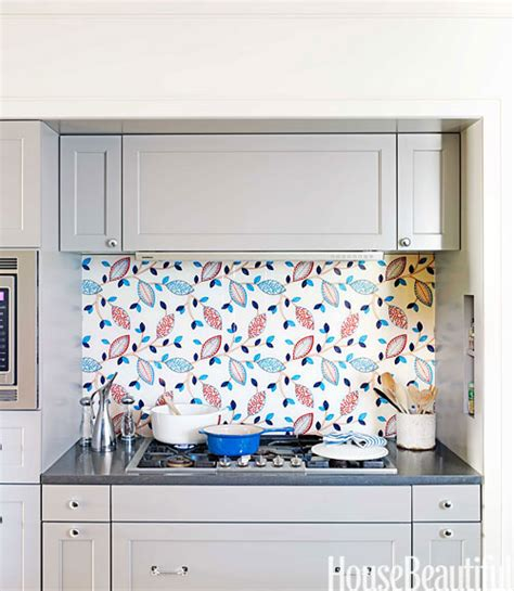 kitchen wall tiles design wall covers unique kitchen backsplash idea fabric under glass
