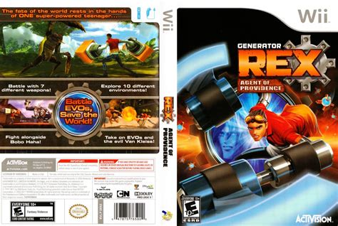 dvd format wii games generator rex nintendo wii game covers generator rex