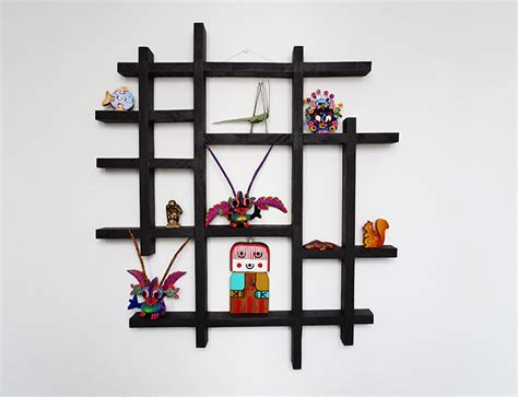 Display Wall Shelf by How To Make A Wall Display Shelf Ohoh