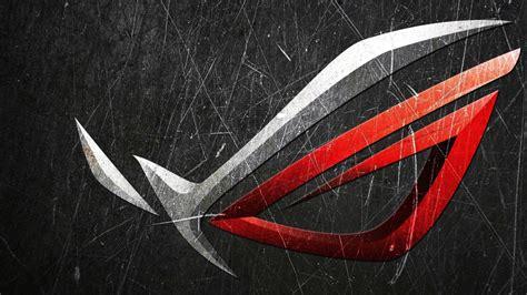 wallpaper asus republic  gamers rog logo