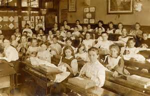 victorian time pupils in a needlework lesson in victorian times nen gallery