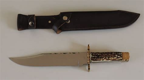 10 inch bowie knife reg cooper 10 inch bowie knife catawiki