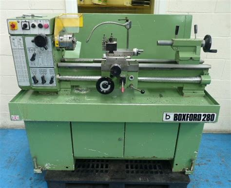 boxford   straight bed centre lathe rondean