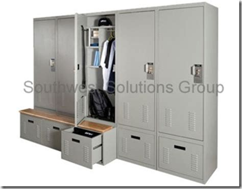 metal locker storage bench innovative storage solutions systec gsa partner 800