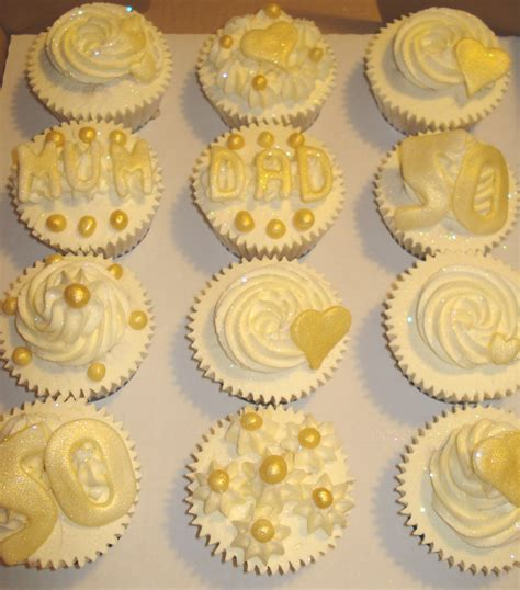 anniversary cupcakes 50th wedding anniversary and wedding anniversary on